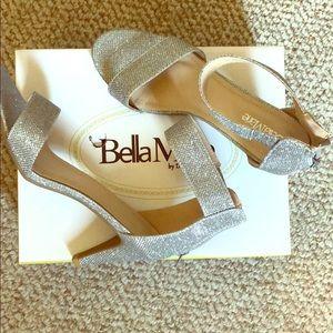 Bella Marie Silver Heels